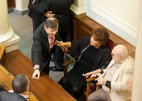 Ляшко, Бахтеева и Ян Табачник