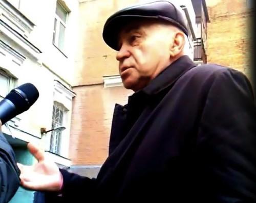 Батько Едуарда Ставицького не хоче називати своє ім'я? Фото – Слідство.Інфо